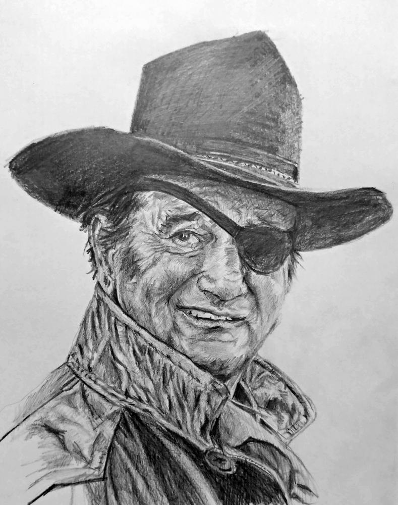 John Wayne by linshyhchyang